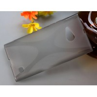 Силиконовый X чехол для Nokia Lumia 730/735 Серый
