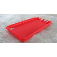 Силиконовый чехол S для Sony Xperia Z1 Красный