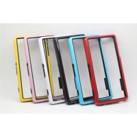 Бампер силиконовый двухцветный для Sony Xperia Z3 Compact (d5803)