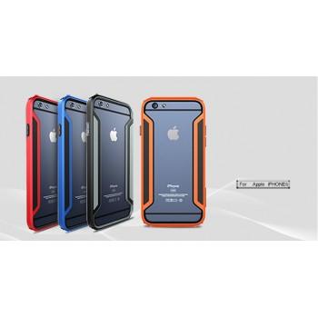 Бампер силикон-пластик повышенной защиты для Iphone 6