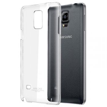 Пластиковый транспарентный чехол для Samsung Galaxy Note 4