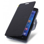 Чехол портмоне подставка с защелкой для Fly IQ4501 EVO Energie 4 Quad