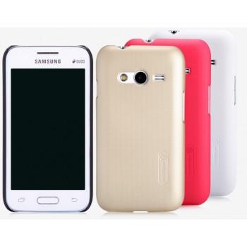 Пластиковый матовый нескользящий премиум чехол для Samsung Galaxy Ace 4