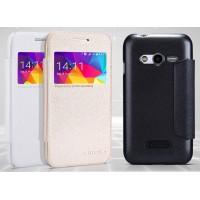Чехол смарт флип с окном вызова серия Colors для Samsung Galaxy Ace 4