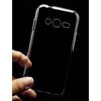 Пластиковый транспарентный чехол для Samsung Galaxy Ace 4