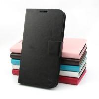 Чехолфлип подставка на пластиковой основе с магнитной защелкой для Lenovo A536 Ideaphone
