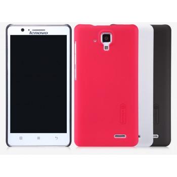 Пластиковый матовый нескользящий премиум чехол для Lenovo A536 Ideaphone