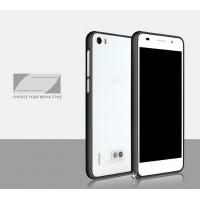 Металлический алюминиевый бампер для Huawei Honor 6 Черный