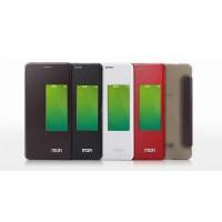 Чехол смарт флип на присосках и полупрозрачным основанием для Huawei Honor 6