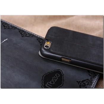 Чехол флип подставка на пластиковой основе серия Vintage для Iphone 6
