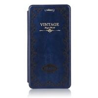 Чехол флип подставка на пластиковой основе серия Vintage для Iphone 6 Синий