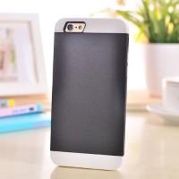 Двухкомпонентный силиконовый чехол с поликарбонатной накладкой для Iphone 6