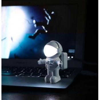 Светодиодный LED светильник USB дизайн Астронавт