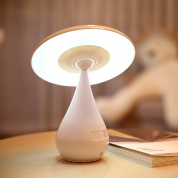 Светодиодный LED светильник USB дизайн Гриб и ионизатор воздуха с сенсорным управлением и регулятором яркости