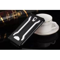 Металлический сгибоизолирующий чехол для Iphone 6 Plus Черный