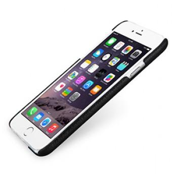 Кожаный чехол накладка (нат. кожа) серия Back Cover для Iphone 6 Plus