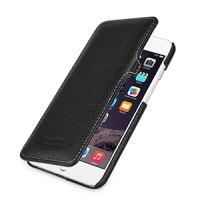 Кожаный чехол горизонтальная книжка (нат. кожа) с защелкой для Iphone 6