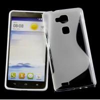 Силиконовый S чехол для Huawei Ascend Mate 7