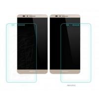Ультратонкое износоустойчивое сколостойкое олеофобное защитное стекло-пленка для Huawei Ascend Mate 7