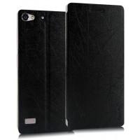 Текстурный чехол флип подставка на присоске для Lenovo Vibe X2 Черный