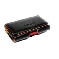 Кожаный чехол-кобура для LG G Pro Lite Dual (d686) Черный