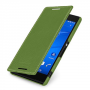 Кожаный чехол горизонтальная книжка (нат. кожа) для Sony Xperia Z3