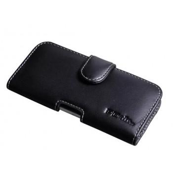 Кожаная кобура (нат. кожа) с магнитной защелкой и зажимом на пояс для Iphone 6 (изготовление на заказ)