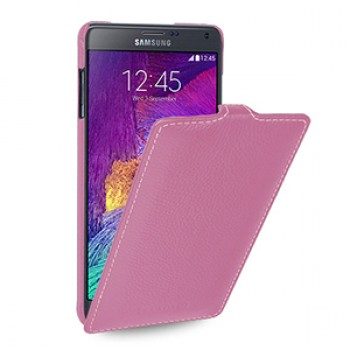 Кожаный чехол вертикальная книжка (нат. кожа) для Samsung Galaxy Note 4 1!New 22.10.2014