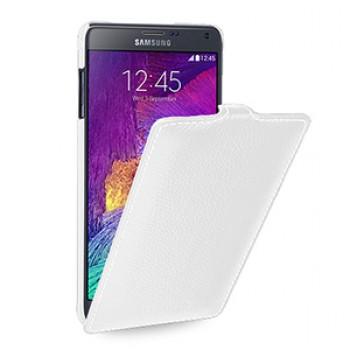 Кожаный чехол вертикальная книжка (нат. кожа) для Samsung Galaxy Note 4 3!New 22.10.2014