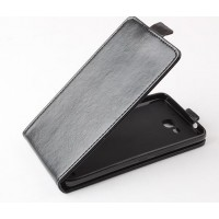Чехол вертикальная книжка на пластиковой основе с магнитной застежкой для Huawei Honor 3x