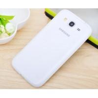 Силиконовый бампер для Samsung Galaxy Mega 5.8 (i9150 i9152) Белый