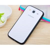 Силиконовый бампер для Samsung Galaxy Mega 5.8 (i9150 i9152) Черный