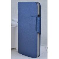 Чехол флип подставка с магнитной застежкой для HTC Desire 300 Синий