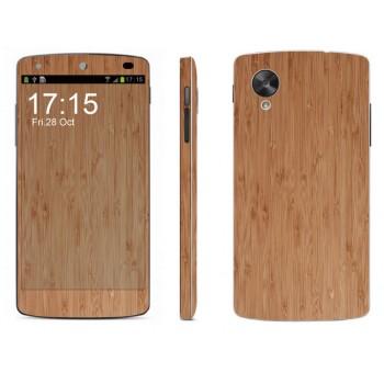 Набор виниловых матовых наклееек на все поверхности серия Дерево для Google LG Nexus 5