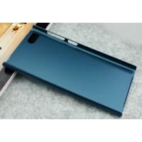 Пластиковый матовый чехол для Xiaomi MI3 Синий