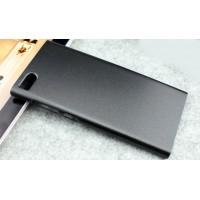 Пластиковый матовый чехол для Xiaomi MI3 Черный