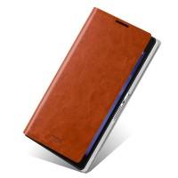 Чехол флип водоотталкивающий для Sony Xperia Z2 Коричневый