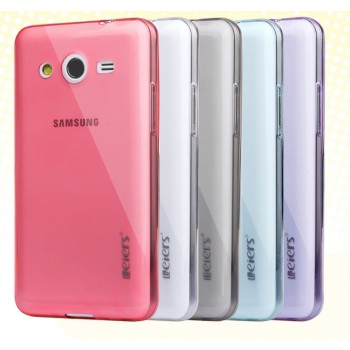 Ультратонкий полупрозрачный чехол для Samsung Galaxy Core 2