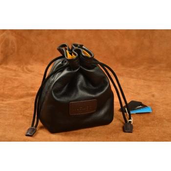 Кожаный чехол-мешок с затяжками для Sony Cyber-shot DSC-RX1/RX1R