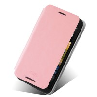 Чехол флип водоотталкивающий для HTC Desire 601 Розовый