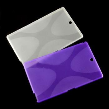 Силиконовый матовый X чехол для Sony Xperia Z3 Tablet Compact