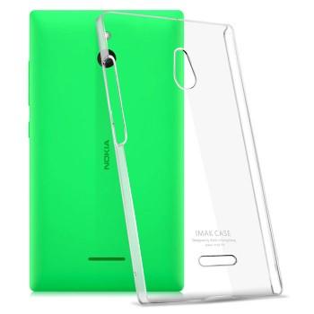 Пластиковый транспарентный чехол для Nokia X2