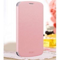 Чехол флип подставка водоотталкивающий для Samsung Galaxy Grand Duos Розовый