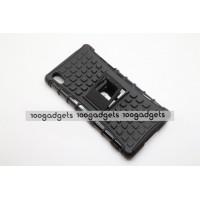 Силиконовый чехол экстрим защита для Sony Xperia Z2 Черный