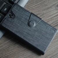 Текстурный чехол флип-подставка с защелкой для Lenovo Vibe X2 Черный