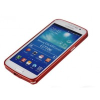Ультратонкий бампер для Samsung Galaxy Grand 2 Duos Красный