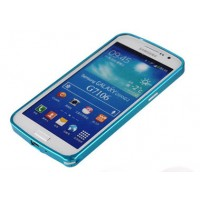 Ультратонкий бампер для Samsung Galaxy Grand 2 Duos Синий