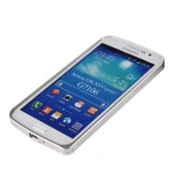 Ультратонкий бампер для Samsung Galaxy Grand 2 Duos Белый