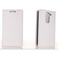 Чехол портмоне-подставка для LG Optimus G2 mini серия Satisfied Белый