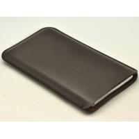 Кожаный мешок для Sony Xperia Z3 Compact Коричневый